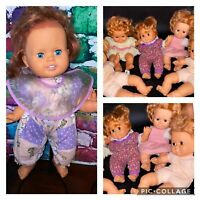 Vintage Baby Crissy Doll Lot Of 6 1990s TLC REPAIR DOLL LOT ~READ~