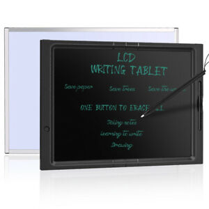 """21"""" LCD Writing Tablet Degital Drawing Pad Memo Message Boards For Kids & Adults"""