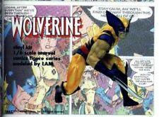 "8"" Wolverine Crouching Comic Version Movie Vinyl Model Kit 1/6"