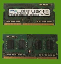 Samsung 2GB Ram 1Rx8 PC3-12800S DDR3 RAM Para Ordenador Portátil Netbook Notebook