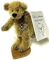 "Vintage Deb Canham Limited Edition UNCLE ERNIE Miniature 3.5"" Mohair Bear"