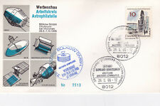 West Germany 1966 10th anniversary of The Astrophilately Society Cover VGC