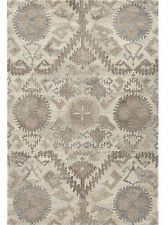 Brand New 8u0027X10u0027 CRATE AND BARREL ORISSA Handmade Wool Area Rug  Carpet