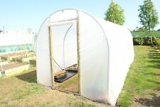10ft x 20ft Polytunnel Frame w/ Polythene and Foundations | Northern Polytunnels