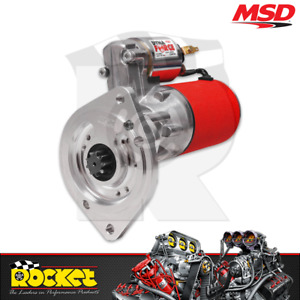 MSD DynaForce High Speed Starter Motor Fits Ford Windsor/Cleve AUTO - MSD50902