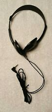 Sony MDR-023 Original Black Wired Stereo Headphones Tested & Works