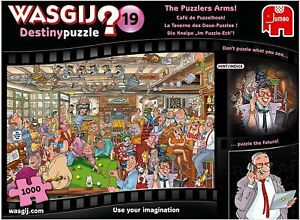 Wasgij 1000 Piece Jigsaw Destiny 19 The Puzzlers Arms Puzzle Jumbo