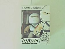 Mighty Muggs GI Joe Storm Shadow Vinyl Figure New