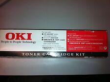 2 x 09002392 original oki toner for oki okifax 400 800 of-110 150 2300 a-ware