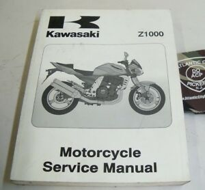 Z1000 Motorcycle Service Repair Manuals For Sale Ebay
