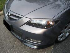 Eyelids eyebrows FRONT headlight light brows Trim for MAZDA 3 SEDAN no hatchback