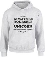 Always Be Yourself Unicorn, Kids Printed Hoodie Designers Girl Boy Hoody Jumper