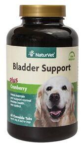 NaturVet Senior Dog Bladder Support w/ cranberry Vitamins Tablets 60 ct chewable