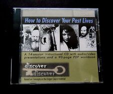 Edgar Cayce How to Discover Your Past Lives (Home Course) Audio CD – 2004