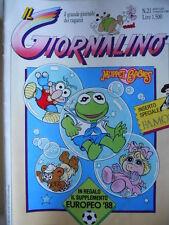 Giornalino n°21 1988 Uomini senza Gloria Gino D'Antonio [G.302]