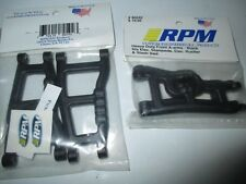 RPM Traxxas Stampede Rustler 2wd Front & Rear Suspension Arms Black 2 Pair
