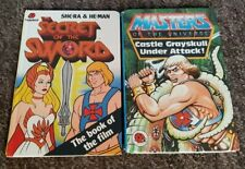 Vintage ladybird She-ra And He-man 2 Masters Of The Universe Books