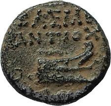 ANTIOCHOS IX Kyzikenos 113BC RARE R2 Seleukid Greek Coin ATHENA & GALLEY i66360