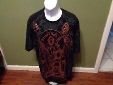 DRAGONFLY T-shirt  Skeleton ANARCHY GRIM REAPER SIZE ADULT XXXXL RUNS SMALLER