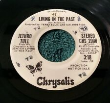 Jethro Tull - Living in the Past (Mono/stereo) 45 Promo Chrysalis VG+