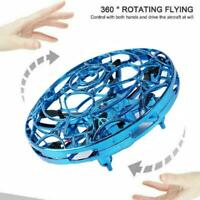Kids Mini Drone Infrared Sensor UFO Flying Toy Induction Toy Quadcopter Air T8W0