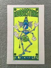Original Hoobastank Concert Poster Trocadero Philadelphia S/N 2004
