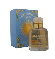 Dolce & Gabbana light blue SUN Pour Homme Eau de Toilette EDT 125ml. Neu & OVP