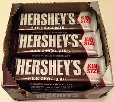 HERSHEY'S MILK CHOCOLATE KING SIZE CANDY BARS 18 - 2.6 OZ BARS