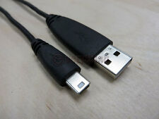 Black Seagate 1.5M 28AWG/2C 28AWG/2C A Male to Mini B 5 PIN USB 2.0 Cable