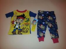 Jake and the Neverland Pirates Short Sleeve Toddler Boy Pajamas New 18 Months