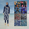AlHamra Full Cover Modest Burkini Swimwear Burqini Swimsuit Muslim XXL,3XL,4XL