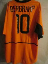 Holland 2002-2004 Bergkamp #10 Home Football Shirt Size XL /34139