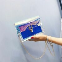 Women Shoulder Bag Ladies Handbag Purse PVC Waterproof Bags Crossbody Handbags