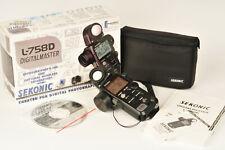 Sekonic L-758D Digital Master Exposure Meter