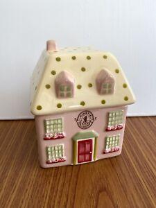 Kirstie Allsop 12cm China House Trinket Box With Lid. Cute. Treasure Hideaway.