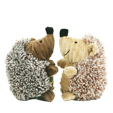 Pet Dog Squeaky Hedgehog Plush Toy Squeaker Sound Cat Puppy Chews Training Toy