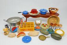 Vintage Kitchen Accessories Lot Dollhouse Miniatures 1:12