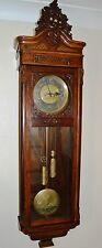 ANTIQUE ORIGINAL GUSTAV BECKER WALL CLOCK HUGE 143 CM VIENNA REGULATOR