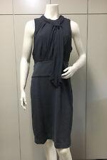 $208 BCBG BLACK/GREY (JNN6C535) SLEEVELESS TWO-FER DRESS NWT 12