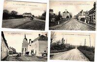 FRANCE CARS, CIRCUIT SARTHE 25 Vintage Car Racing postcards