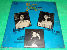 PHILIPPINES:6 VISAYAN SINGER,LP,Carmelita Alburo,Alice mendez,Al Comendador,OPM