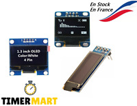 Module d'affichage OLED Blanc LED I2C IIC SPI pour Arduino Raspberry TimerMart