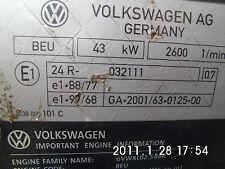 Still  Linde BEU Antrieb komplett VW tdi Motor und Generator R 70 Bj.2006 NEU