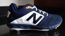 New Balance Fresh Foam 3000v4 Metal Baseball Cleats L3000TN4 Navy Men US Size 11