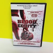Football: Blood Equity: The Dark Side of America's Biggest Sport ex library DVD