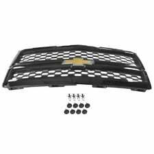 OEM Split Mesh Grille Body Colored Black Code GBA for 14-15 Chevy Silverado 1500