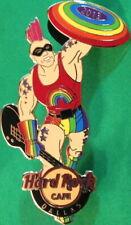 Hard Rock Cafe DALLAS 2013 GAY PRIDE PIN Captain Pride Rainbow Shield HRC #73406
