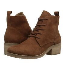 Lucky Brand Leather Tamela Ankle Boots, Camel, New. Sz 6