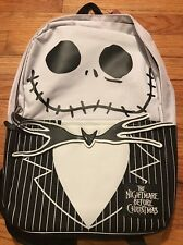 NWT Adult Disney The Nightmare Before Christmas Backpack Jack Face