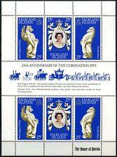 Falkland Islands 1978 SG#348a, 25th Anniv Of Coronation MNH Sheetlet #D76345